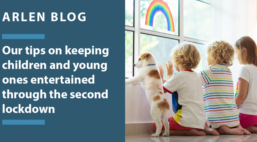 Our tips on keeping children and young ones entertained through the second lockdown