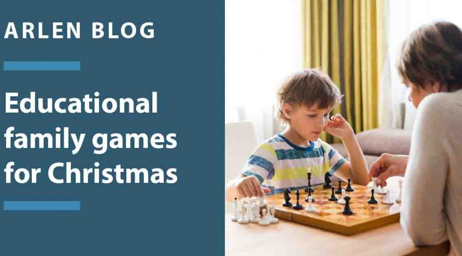 Educational family games for Christmas